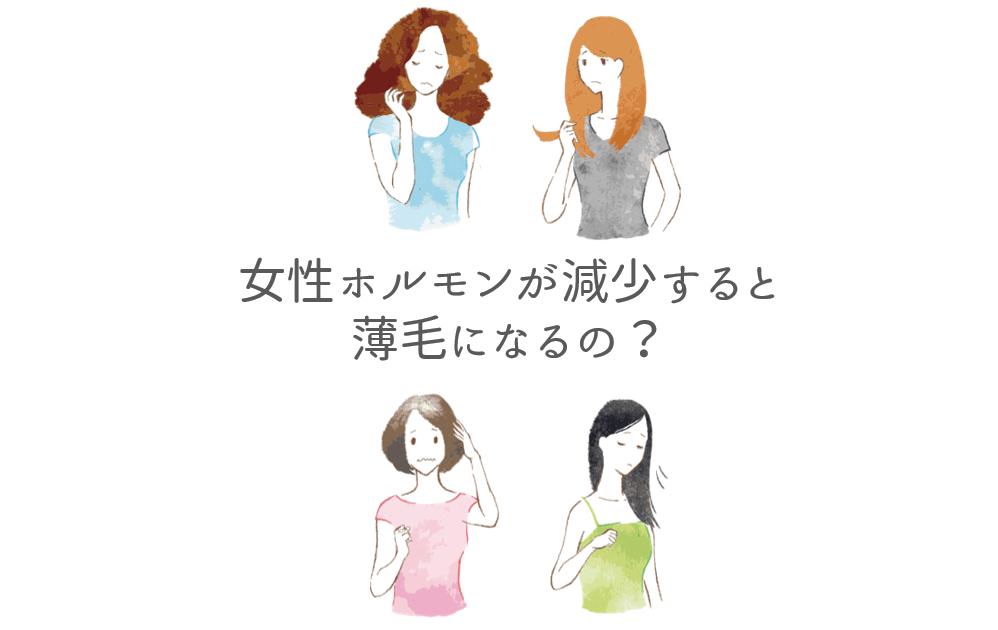 女性ホルモンが減少すると薄毛になるの?.png